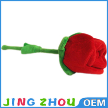 Popular Valentines Gift plush rose soft toy flower