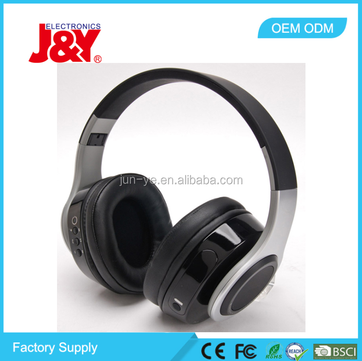 Fashion design foldable true wireless bluetooth beats sound headphone connector