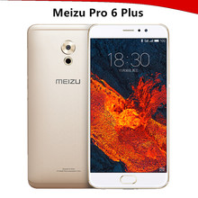"2017 mobile phone Meizu Pro 6 Plus 4GB RAM 64GB/128GB ROM smartphone 5.7"" Exynos 8890 Octa Core 2560*1440 Fingerprint 12.0MP"