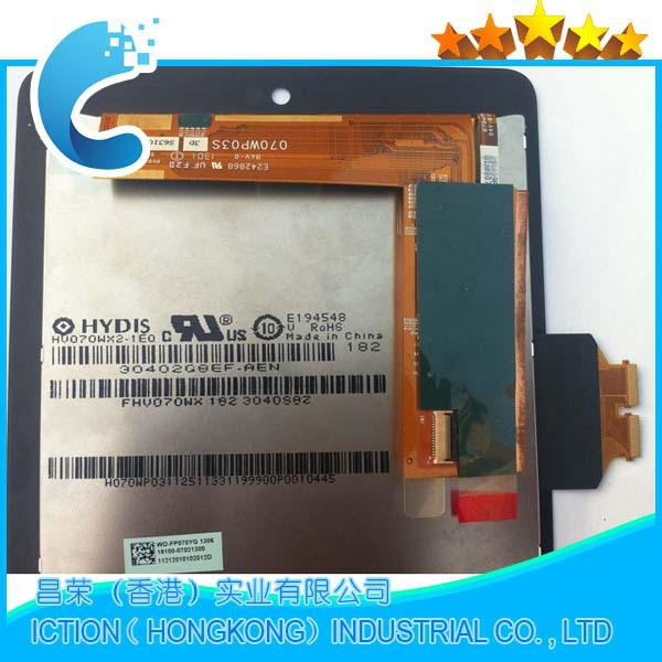 original new for Asus google Nexus 7 LCD Screen with Touch Screen assembly
