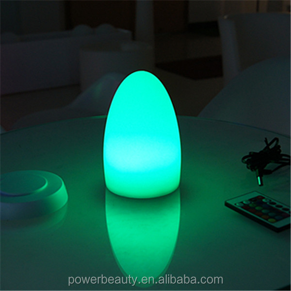 Remote Control Table Lamp/ Waterproof Decoration Light/ LED Egg Lamp,battery powered led table lamps