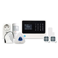 Golden Security LCD display WIFI & GSM +IP Camera with Auto Dial smart home alarm system wireless
