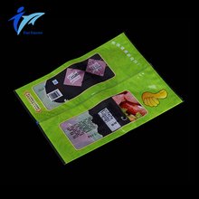 custom printed heat seal plastic bag for food packing