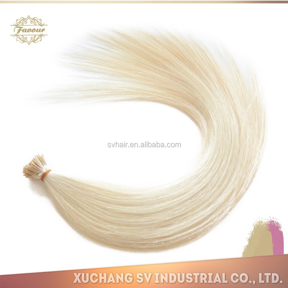 2014 Hot sale prebonded I tip hair /Stick tip hair/Grade 8A Keratin I-tip human hair extension,100g/pack