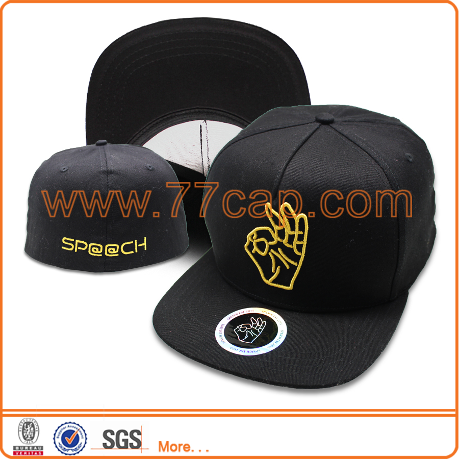 High quality brand hip hop snapback cap fitted hat rack