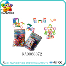 Wholesale toys connecting plastic building blocks for kids