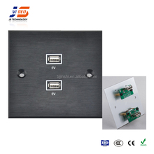 JS-WP121 usb wall socket 240v