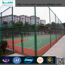 Used chain link fence / chain link fencing / diamond wire mesh used for fence and mine (coal lane)