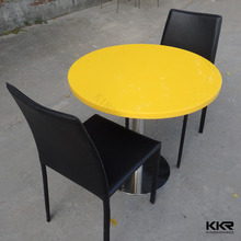 modern design small 600mm dining table set