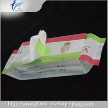 Hot Sale Baby Skin Care Plastic Wet Wipe Bag Manufacturer