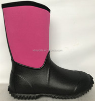 Fashion girl boots for gardening