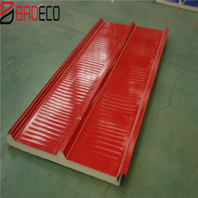 Economic Isopanel factory suppliers pu foamed roof Sandwich panels