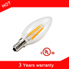 360degree Globe UL E26 A19 AC110V E26 Dimmable 8W 60*110mm Dimmable Filament LED Bulbs Lights