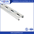 Slotted Strut Channel Steel Profile