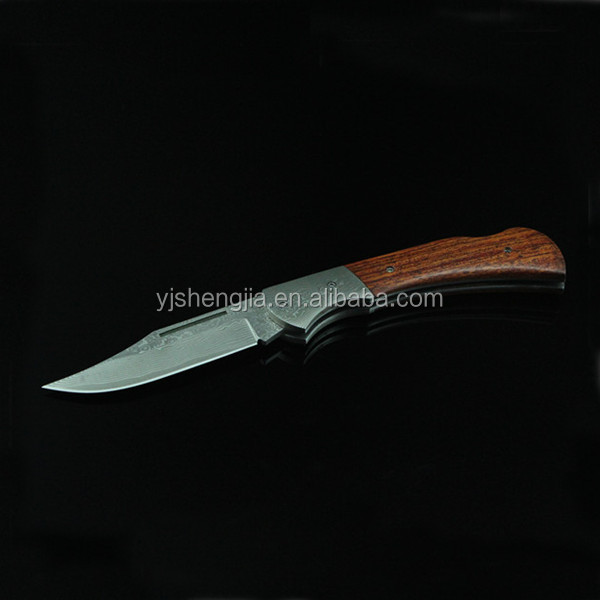 Foldable Wholesale Custom Made Knife Damascus