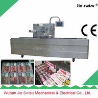 Top class automatic thermoforming gas flushing Meat Vacuum Packing Machine