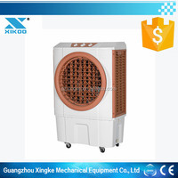 floor standing room evaporative cooling fan with water tank