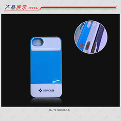 Fresh Protective SGP PC case for iPhone4/4s,Double colors matching,Various colors are available