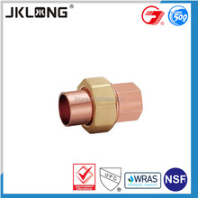 High Quality Copper Pipe Nipple Fitting,Bulkhead Union Fitting,copper connector