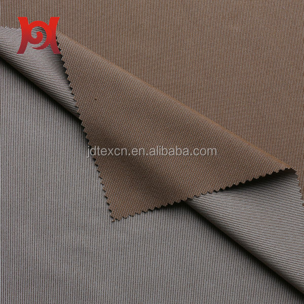 warp knitted cation brushed fabric for man's suit