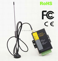 support RS232 RS485 F2414 industrial Serial to 3G modem for SCADA