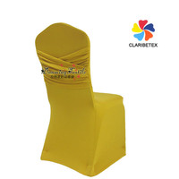 Wholesale Fancy Design Spandex Chair Cover for Wedding Decor, Top Quality Seat Cover