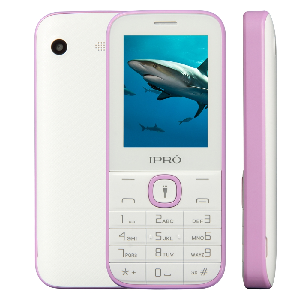 Best Seller IPRO I324F 2.4 inch feature phones 2g Telefone Mobiles 1000 mAh Torch for Lationamerica