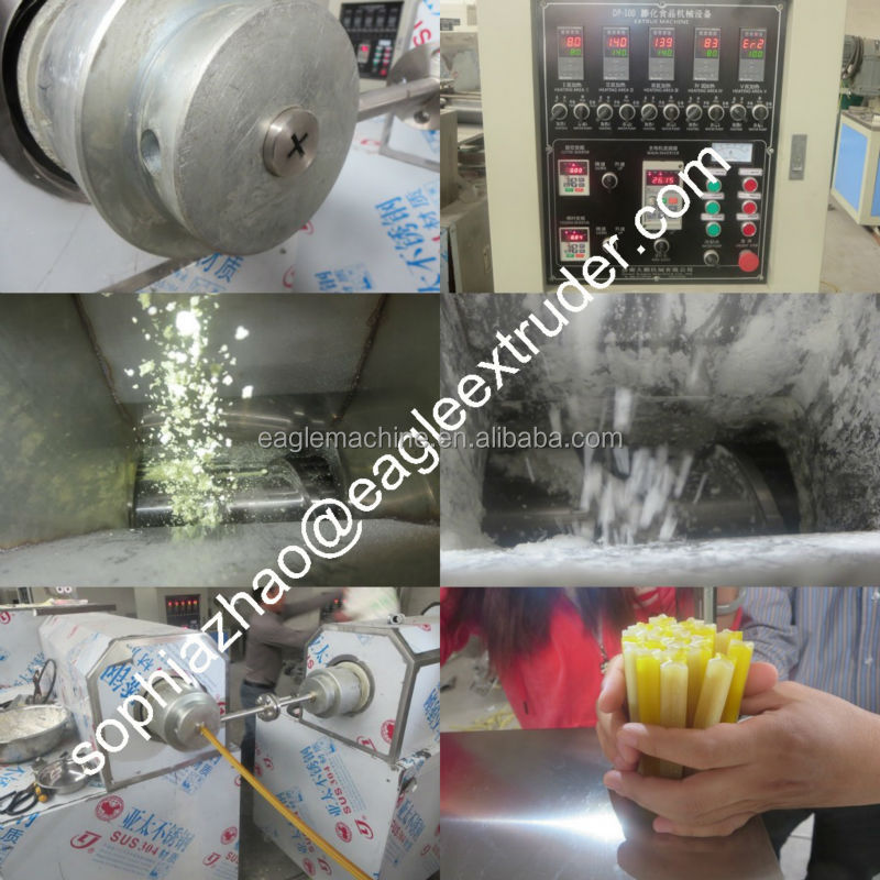 Pet chewing extruder machine/dog snack making equipment