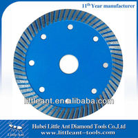 manufacturer Diamond turbo saw blades for stone cutting rim type saw blades size 4