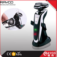 RAYCO Top Quality Best Price Triple Blade Rotary shaver with Trimmer