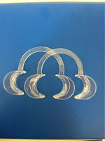 Teeth whitening gap, tooth whitening cheek retractor