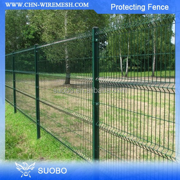 lowest price hot dipped Galvanized Border Fence manufacture