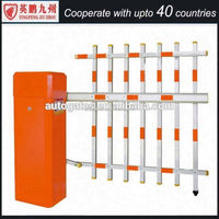 Electronic Security Access Control Road Traffic Barrier Automatic LED arm Barrier Gate