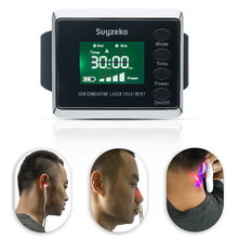 Low level laser therapy device (lllt) medical equipment best selling high blood pressure laser therapy watch oem laser watch