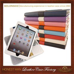 10'' Size and PU,High quality PU Material For Ipad mini Case in stock