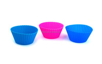 Promotional product for food Grade Heat Resistant Silicone cupcake molds muffin cups
