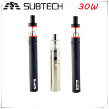 New variable voltage ecig airflow control S30 bulk e cigarette purchase starter kit with factory price
