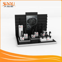 Modern Fashion Design Black Watch Acrylic Display Shelf