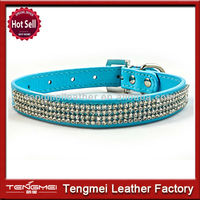Pet fake diamond dog collars for hunting training collar for hunting