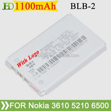 700mAh battery BLB-2 for NOKIA 8210/3610/5210/6500/6510/7650/8250/8850