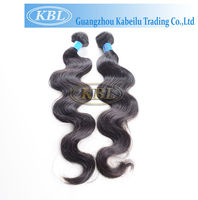 Top selling hairstyle with remy brazilian virgin hair weave for women