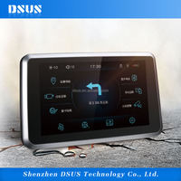 7 inch dashcam car blackbox 1080P HD DVR GPS with G-sensor rearview parking FM transmitter Bluetooth multimedia player