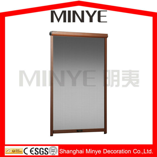 mosquito net window/aluminum screen window/with screen casement window