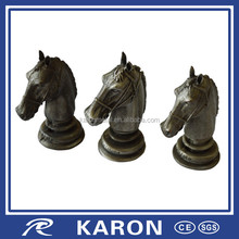 cheap quality personalized metal figurine with Karon