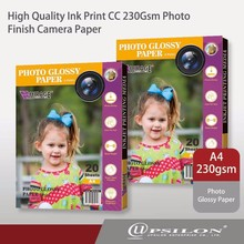 High Quality Ink Print CC 230Gsm Photo Finish Camera Paper