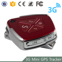 Newest fall alarm micro gsm WCDMA NETWORK sim card tracking mini 3g gps personal tracker