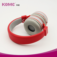 Bluetooth Function and headband Mobile Phone Use Wireless headphone support sd card