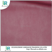 Eco friendly pvc synthetic leather material for chairs and sofa making bags