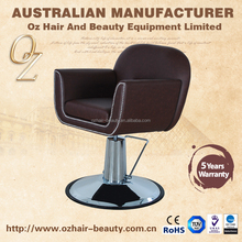 Hair Salon Chair With Lockable Hydraulic Pump Salon Styling Chair Hairdressing Salon Furniture