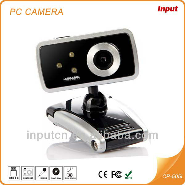 2013 Most Popular Web Camera Factory Plug and Play USB 2.0 Webcam Driver